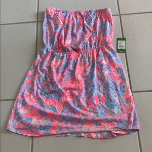 Lilly Pulitzer WINDSOR dress Summer Siren L